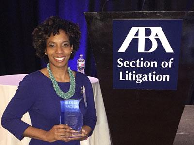 Adria Kimbrough, Dillard's Pre-law Program advisor